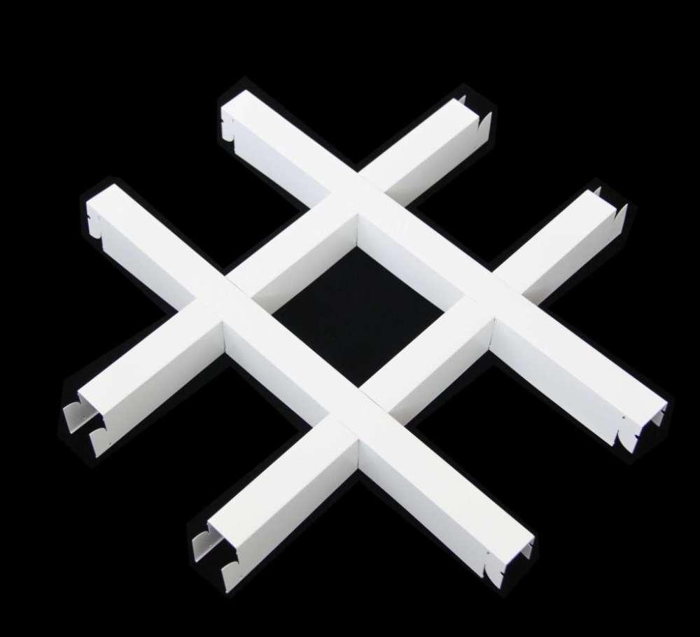 白色鋁格柵報價 貴陽吊頂格柵鋁廠家