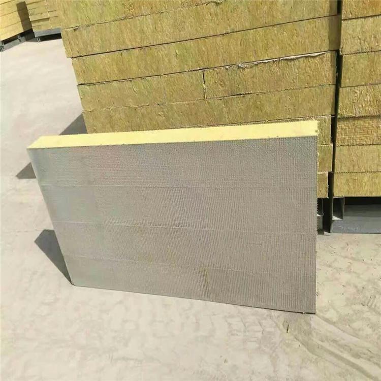 岩棉夹芯板 黔南隔热岩棉板生产厂家