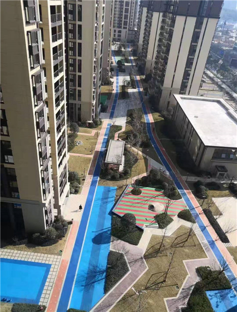 彩色透水地坪 安顺生态透水地坪定做
