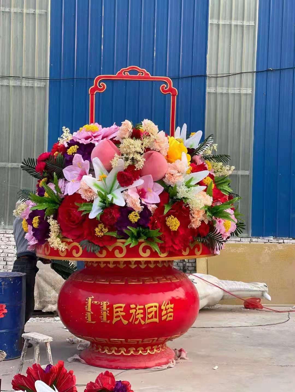 水果花篮雕塑批发 茄子 雕塑直供 工艺精湛