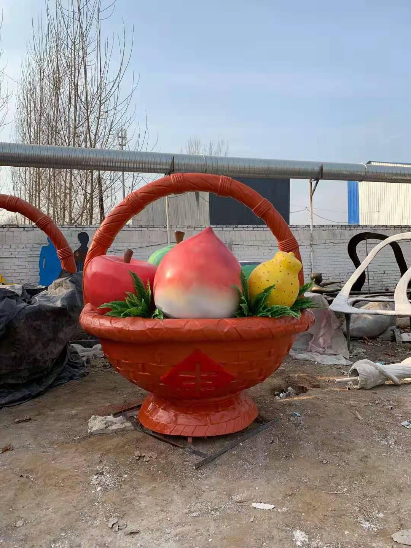工艺品花篮景观雕塑推荐 土豆  景观雕塑生产厂家 品质保证