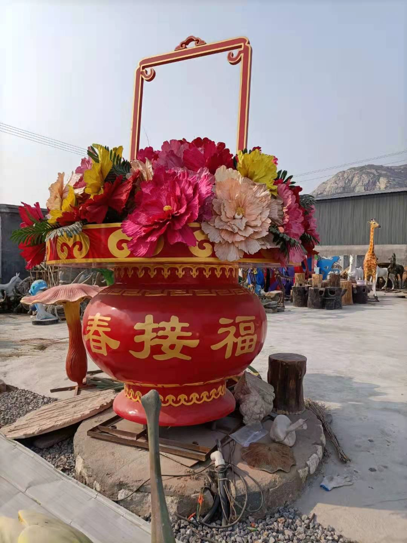 花篮雕塑单价 黄瓜 雕塑直供 品质保证
