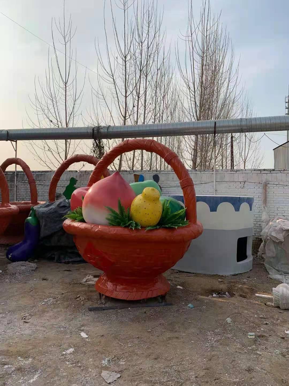 蔬菜景观雕塑厂商 工艺品花篮景观雕塑单价 技术娴熟